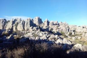 Senderismo en el Torcal de Antequera
