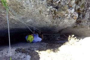 FERRATA DE LOJA. Cueva Horá
